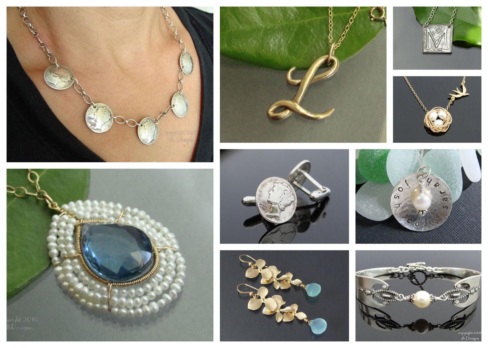 RESERVED FOR BARBARA-bridesmaid jewelry, bridal party jewelry, bridesmaid earrings, bridal jewelry, wedding jewelry